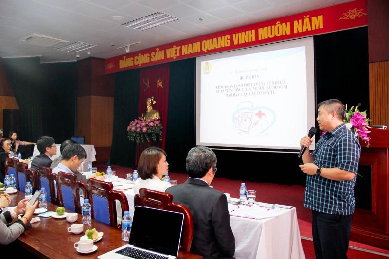 Công đoàn Y tế Việt Nam: Góp phần giảm thiểu bạo hành trong cơ sở y tế