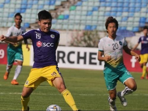 Thắng đậm Yangon United, Hà Nội FC có lợi thế lớn để đi tiếp