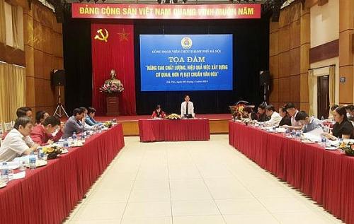 Công đoàn Viên chức thành phố Hà Nội: Hiệu quả từ các phong trào