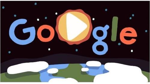 Google Doodle đặc tả vẻ đẹp Mẹ Thiên nhiên kỷ niệm Ngày Trái đất 2019