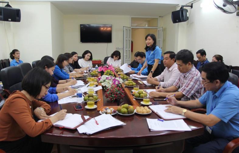 LĐLĐ quận Hoàn Kiếm: Lấy hiệu quả làm tiêu chí hàng đầu
