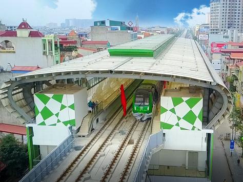 Người Hà Nội sắp được tham quan tàu Cát Linh - Hà Đông tại nhà ga trên cao