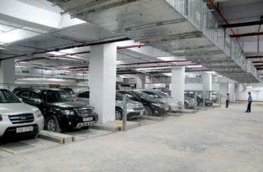 Các công trình xây dựng phải có bãi đỗ xe