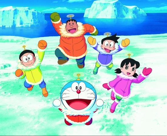 Trở về tuổi thơ cùng Doraemon, Nobita và những người bạn