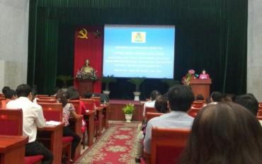 Nữ CNVCLĐ quận Hoàng Mai: Giỏi việc nước - đảm việc nhà