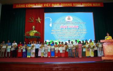 LĐLĐ quận Thanh Xuân: Tôn vinh 127 Công nhân giỏi
