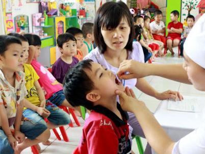 Ngày 1/6, gần 5 triệu trẻ em được uống vitamin A miễn phí
