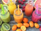 Nước hoa quả không thích hợp đối với trẻ dưới 1 tuổi