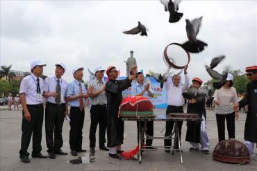Bắc Ninh thả 2.000 chim bồ câu trong dịp lễ 30.4 - 1.5