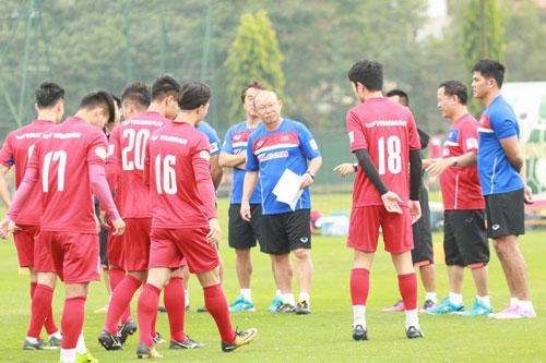 Đội tuyển Việt Nam sẽ có 3 trận giao hữu quốc tế trước thềm AFF Cup 2018