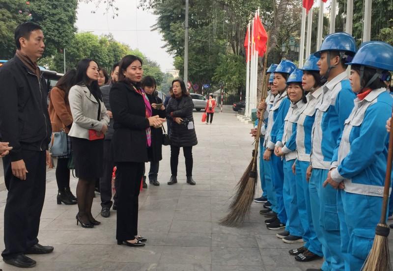 """Công đoàn ngành Xây dựng Hà Nội: Với phong trào """"Xanh - Sạch - Đẹp"""""""