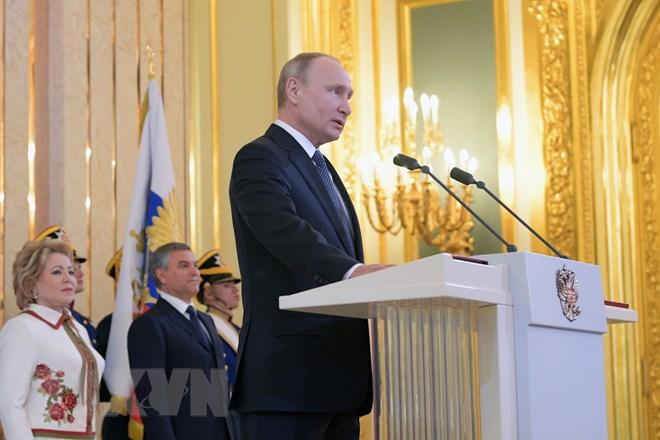 Tổng thống Putin đề ra nhiệm vụ chiến lược phát triển nước Nga
