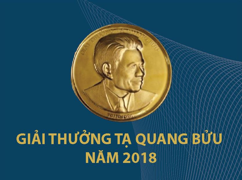 3 nha khoa hoc duoc nhan giai thuong ta quang buu nam 2018