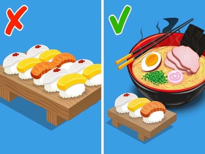 8 nguyên tắc dinh dưỡng bất ngờ của người Nhật