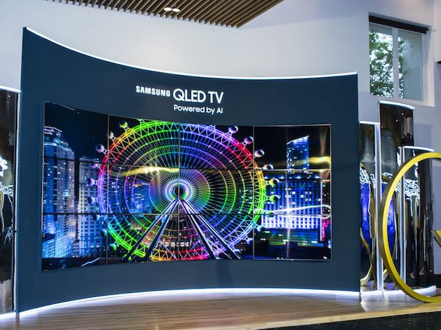 Samsung chính thức trình làng TV QLED mới