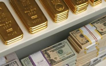 Giá vàng trong nước giảm sâu, tỷ giá USD tăng vọt