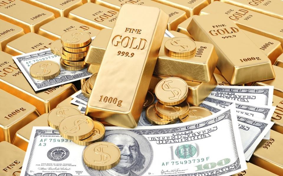 Giá vàng trong nước giảm, tỷ giá USD/VND đứng yên