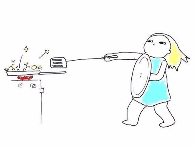 Một số mẹo khắc phục sự cố khi làm bếp