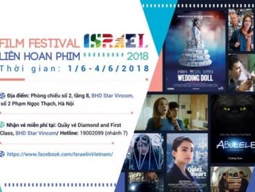 Chiếu phim miễn phí tại Liên hoan phim Israel 2018