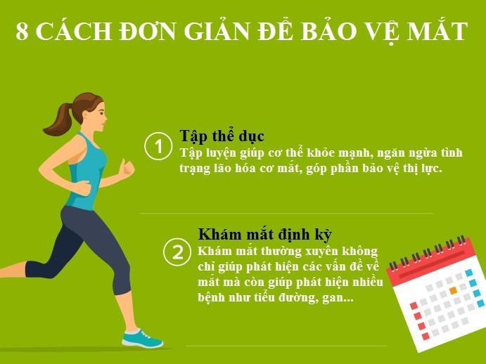 8 cách đơn giản giúp bảo vệ đôi mắt hiệu quả