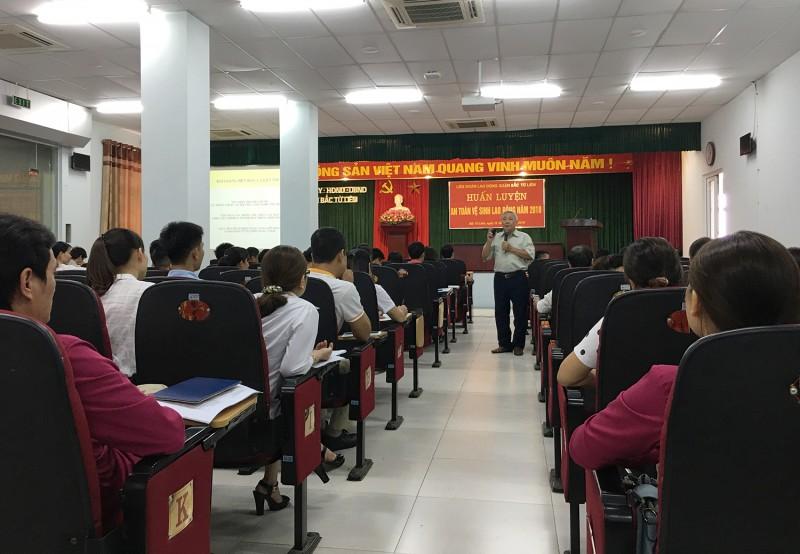 Tăng cường tuyên truyền, huấn luyện về an toàn vệ sinh lao động