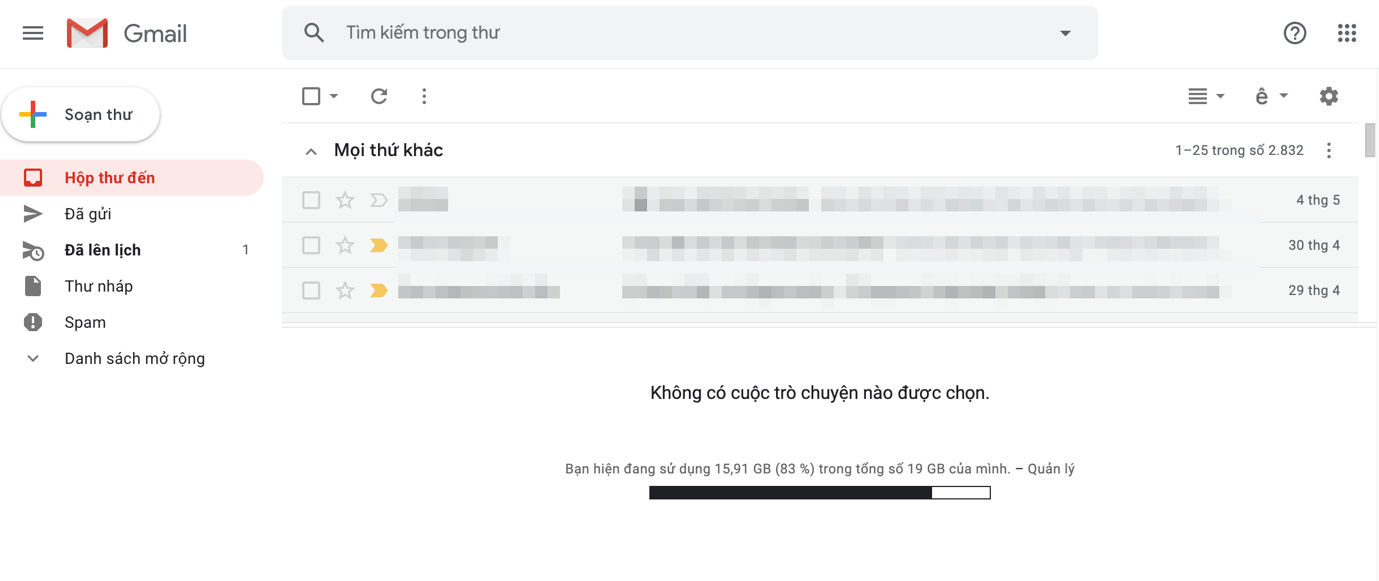 huong dan bat tat va su dung khung xem truoc tren gmail