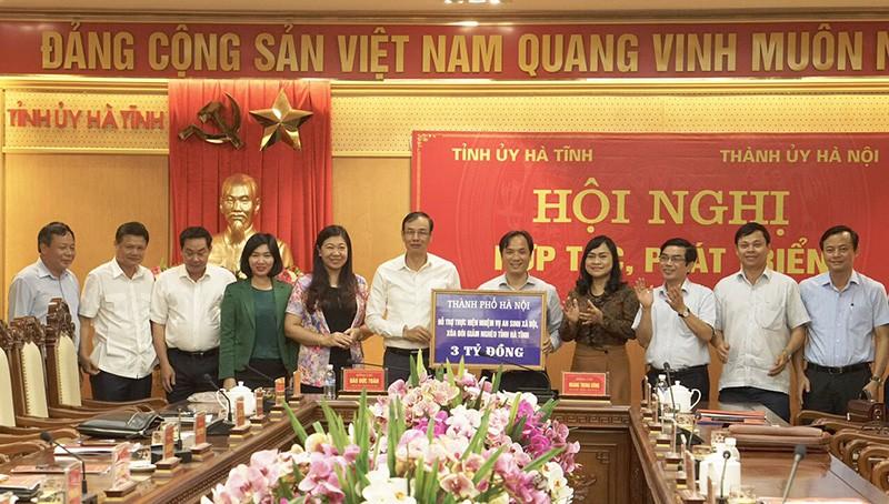 Hà Nội - Hà Tĩnh: Hợp tác để khai thác tối đa các nguồn lực
