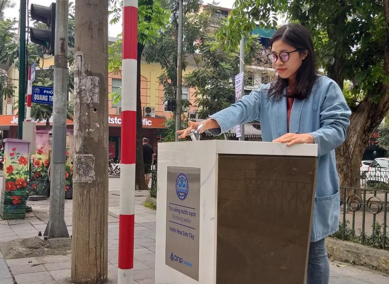 Trụ nước sạch miễn phí: Lan tỏa nét đẹp thơm thảo