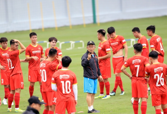 Bất ngờ trong danh sách tuyển Việt Nam tham dự vòng loại World Cup 2022