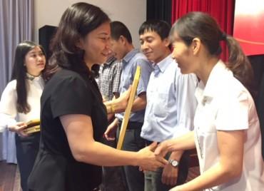Tổng kết, khen thưởng phong trào học tập tấm gương đạo đức Hồ Chí Minh