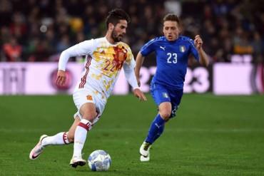 Bê tông chắn lối bò tót, Tây Ban Nha phải vượt qua Italia