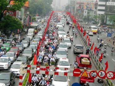 Hà Nội dự kiến cấm xe máy vào năm 2030