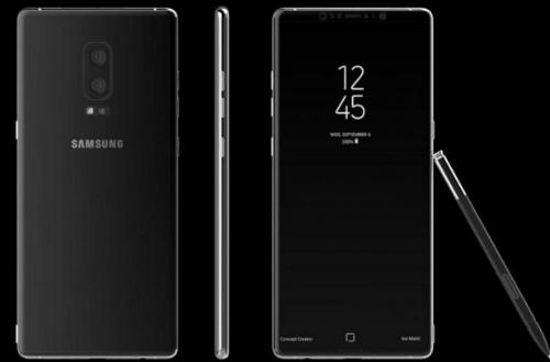 Galaxy Note 8 sẽ có màn hình vô cực, chạy Android mới nhất