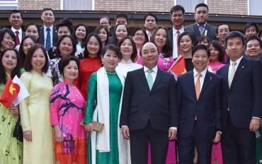 Thủ tướng mong muốn bà con học hỏi tinh thần Nhật Bản