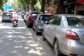 Thêm một tuyến phố Hà Nội triển khai đỗ xe theo ngày chẵn, lẻ