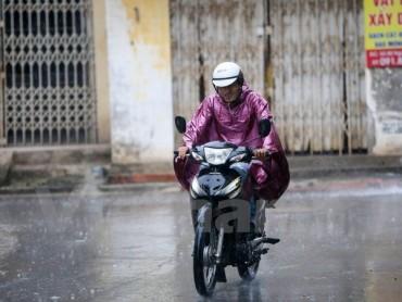 Áp thấp mạnh thêm, Bắc Bộ tiếp tục có mưa đến ngày 20/6