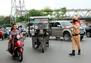 Hà Nội quyết liệt xử lý các xe thương binh giả vi phạm pháp luật