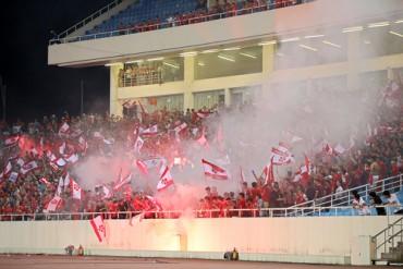 Cổ động viên Hải Phòng bị cấm đến sân đối phương đến hết V.League 2017