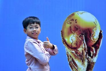 Cậu bé Việt Nam duy nhất được 'dự' trận chung kết World Cup 2018 là ai?
