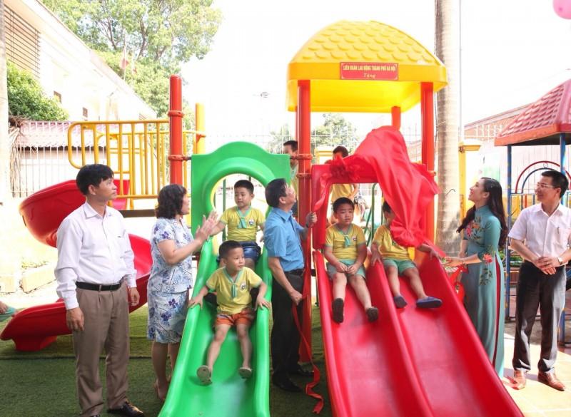 Công đoàn chung tay vì hạnh phúc trẻ thơ