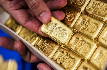 Cuối tuần, giá vàng đột ngột giảm sâu
