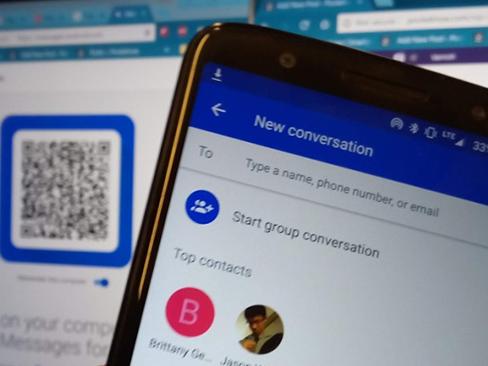 Android Messages: Nhắn tin từ trình duyệt chưa bao giờ đơn giản đến vậy