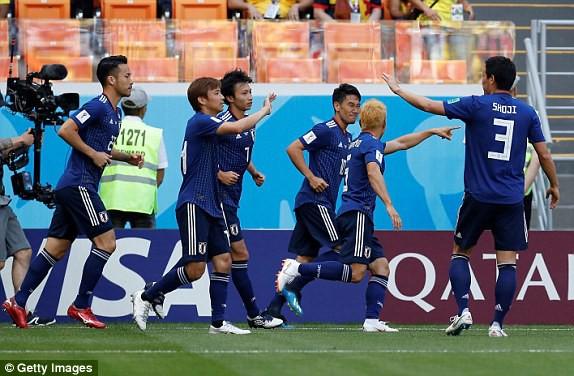 Hạ gục Colombia, Nhật Bản tạo địa chấn mới ở World Cup 2018
