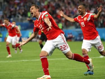 Chủ nhà Nga vẫn có thể bị loại ngay từ vòng bảng World Cup 2018