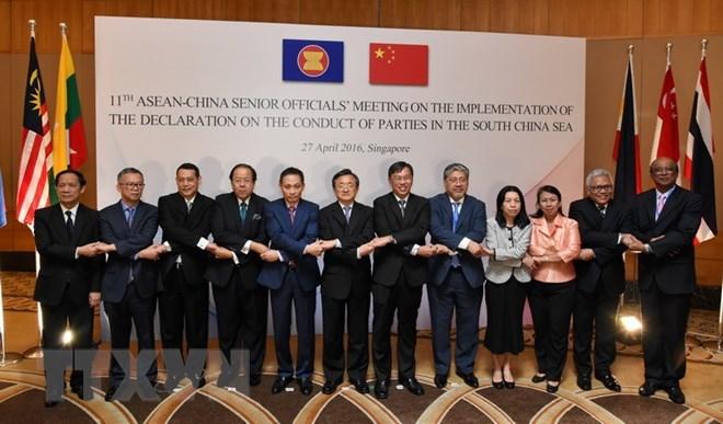THX: ASEAN-Trung Quốc chuẩn bị thảo luận về Biển Đông