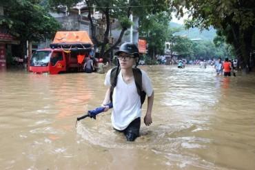 Bắc Bộ tiếp tục mưa diện rộng, nguy cơ cao xảy ra lũ quét, sạt lở đất