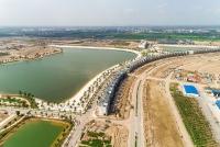 Chiêm ngưỡng thành phố biển hồ Vinhomes Ocean Park sắp lộ diện