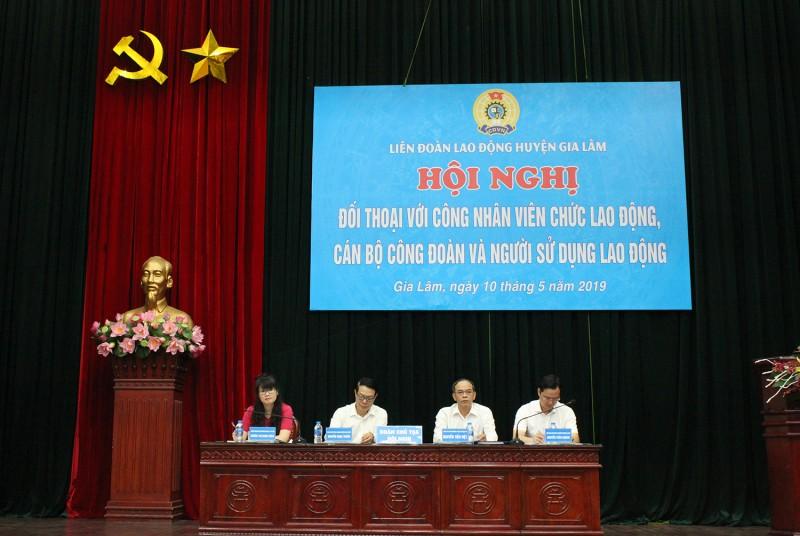 LĐLĐ huyện Gia Lâm: Tháng Công nhân thực sự thiết thực, hiệu quả