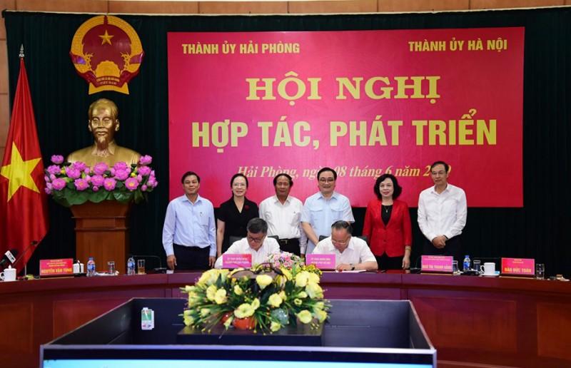 Hà Nội - Hải Phòng: Đẩy mạnh liên kết và thu hút đầu tư