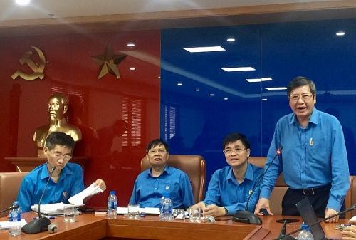 Tổng LĐLĐ Việt Nam khẳng định nay chưa thu khoản tiền nào của trường